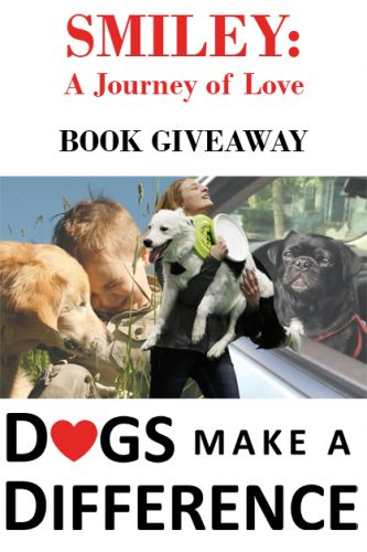 Dogs Make A Difference Smiley Book Giveaway