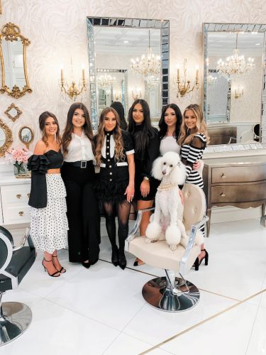 Meet the Poodle That's Part of This Salon's Glam Squad