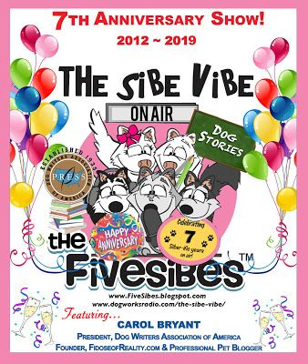"""FiveSibes """"The Sibe Vibe"""" Celebrating 7th Anniversary With Carol Bryant & A Giveaway!"""