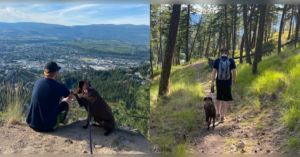 Family Takes Dog On Epic Road Trip Before She Loses Sight