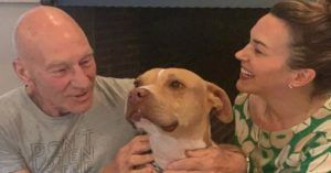 Sir Patrick Stewart and Wife Sunny Ozell Rescue Their 3rd Pit Bull