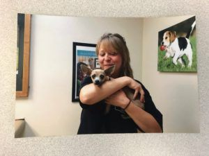 Puppy Mill Pup Mends Rescue Vet Worker's Broken Heart