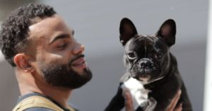 The NFL's First Emotional Support Dog Helps the 49ers During Their Winning Streak