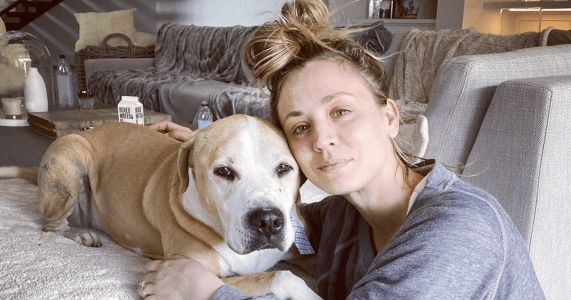 Kaley Cuoco Says Goodbye To Rescue Dog After 14 Wonderful Years