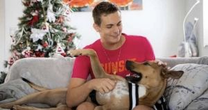 Rescue Dog And Teen With Tourette's Go Viral In Cutest Way