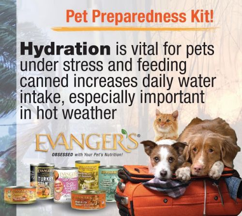Pack the right PET Food in your Emergency Pet Preparedness Kit!