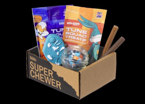 """Your Dog's Drafted To The Tune Squad In July's Super Chewer Box: """"Space Jam: A New Legacy"""""""