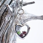 Win a Heart Birthstone Necklace for Dog Moms & Cat Moms