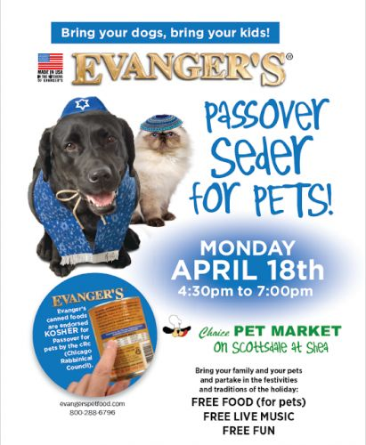 Passover Seder Goes To The Dogs
