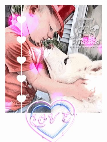 The Love Between A Boy and His Dog on a FlashbackFriday