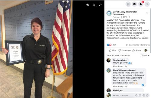 Joint Animal Services Should Give Ashes of Abused Dog to Officer Who Worked Her Case