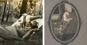 A Beautiful Vintage Photo Collection Of Dogs & Their Humans