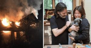 Rachael Ray, Husband, And Dog Experience Devastating House Fire