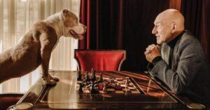 Sir Patrick Stewart Loves To Show His Pitties!