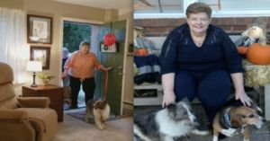 Kind Neighbors Buy Apartment For Homeless Woman And Her Dogs