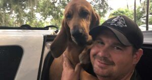 Sheriff's Bloodhound Locates Missing 12-Year-Old During Tropical Storm