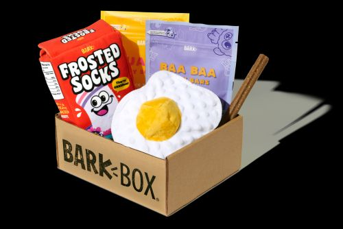 "Wakey, Wakey, Eggs & Bakey! The ""Barkfest In Bed"" BarkBox Collection Is Served"
