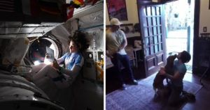 Sweet Dog Overjoyed To See Astronaut Mom After Her Record-Breaking 328-Days In Space