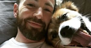 Chris Evans Reveals Sweet Video Of The Day He Met His Rescue Dog